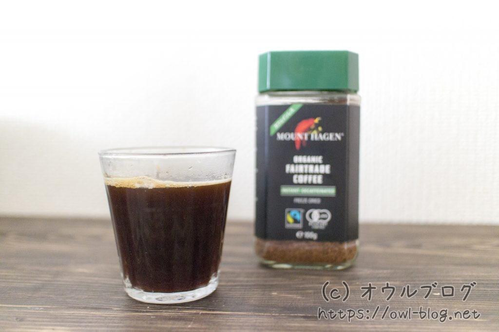 マウントハーゲンデカフェコーヒー