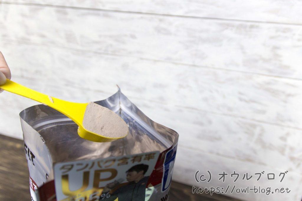 ウィダーのプロテインの粉