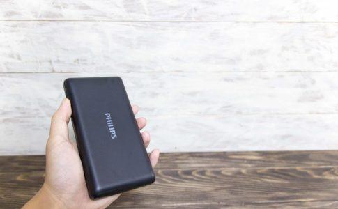 PHILIPS モバイルバッテリーのサイズ