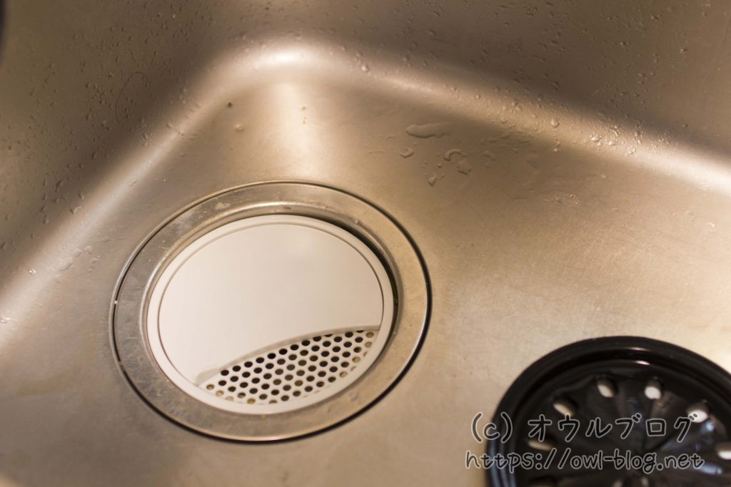 100均のキッチン排水溝カバーはオシャレ